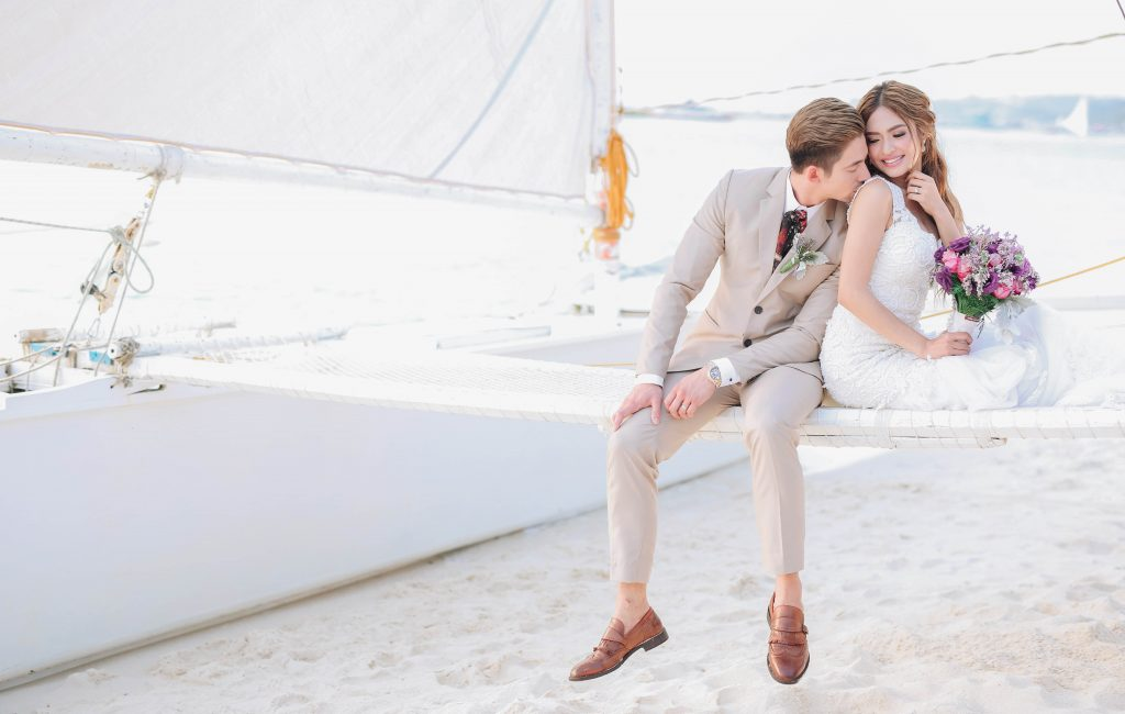 Bangs Garcia and Lloyd Birchmore | Boracay Wedding