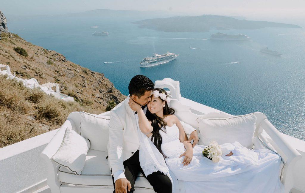 Dane & Genelie (Santorini)