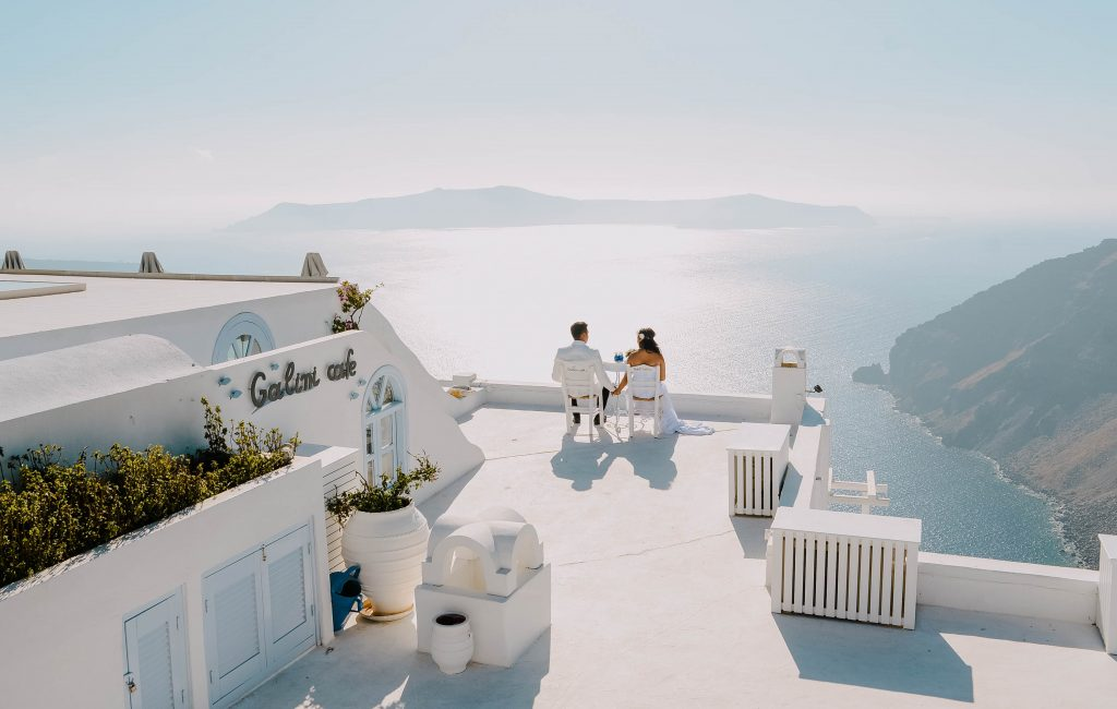 Dane & Genelie (Santorini, Greece)